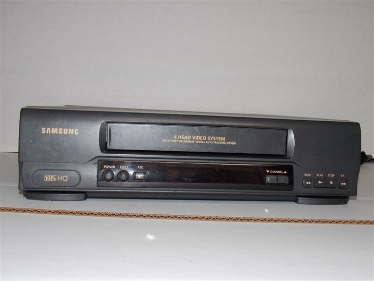 samsung vr5608 vhs vcr player recorder i like it. Black Bedroom Furniture Sets. Home Design Ideas