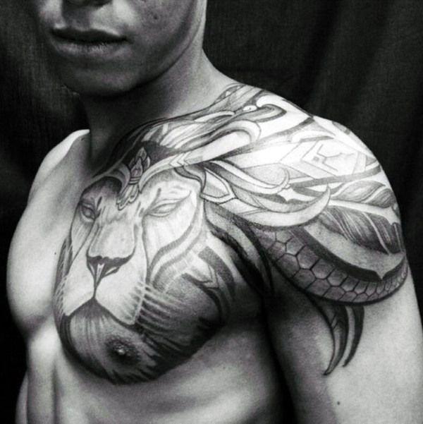 Best 25 Tribal Chest Tattoos Ideas On Pinterest: 25+ Best Ideas About Male Chest Tattoos On Pinterest