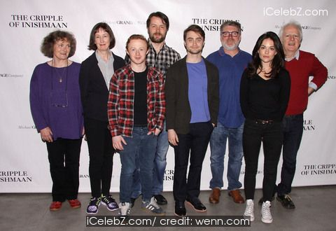 Daniel Radcliffe  Photo call for the Broadway play 'The Cripple of Inishmaan