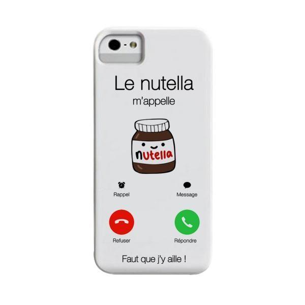 coque iphone 6 nutella silicone   Coque iphone 6, Coque iphone ...