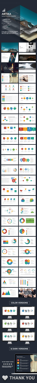 Artika - V.2 Powerpoint Template #design #slides Download: http://graphicriver.net/item/artika-v2-powerpoint/14413172?ref=ksioks