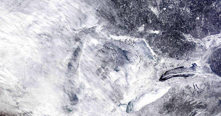 Two cities in the Upper Peninsula had the year's highest snowfall totals of the non-mountain cities in the U.S.