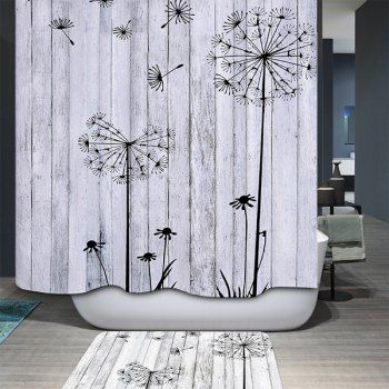 SHARE & Get it FREE | Concise Dandelion Waterproof Polyester Bathroom Shower CurtainFor Fashion Lovers only:80,000+ Items·FREE SHIPPING Join Dresslily: Get YOUR $50 NOW!