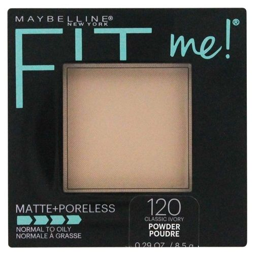 Maybelline Fit Me! Matte + Poreless Pressed Powder - Classic Ivory 120
