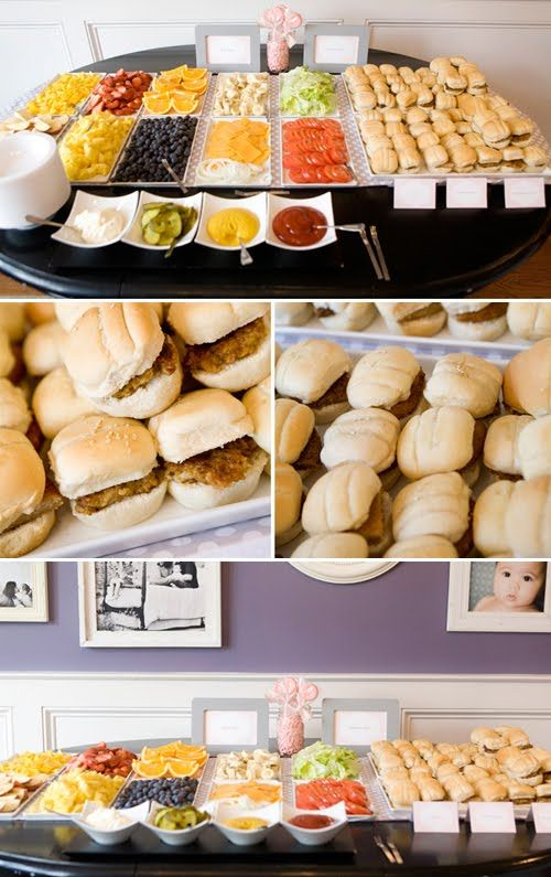 DIY Burger Bar for any kind of party!