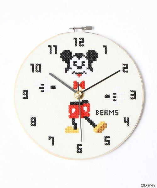 bpr BEAMS(ビーピーアール ビームス)の「【THE MINT HOUSE×BEAMS ... 「【THE MINT HOUSE×BEAMS / ミッキーマウス掛け時計(Disney)】」