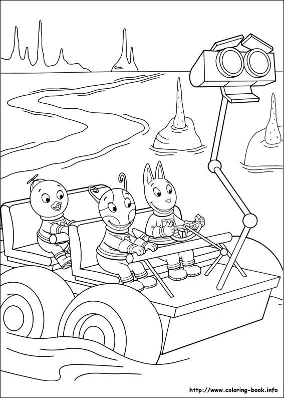 Pin By Funcraft Diy On Coloring Pages Backyardigans Cool Coloring Pages Coloring Books Christmas Coloring Pages