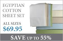 Solid 500 Thread Count Egyptian Cotton Sheet Set