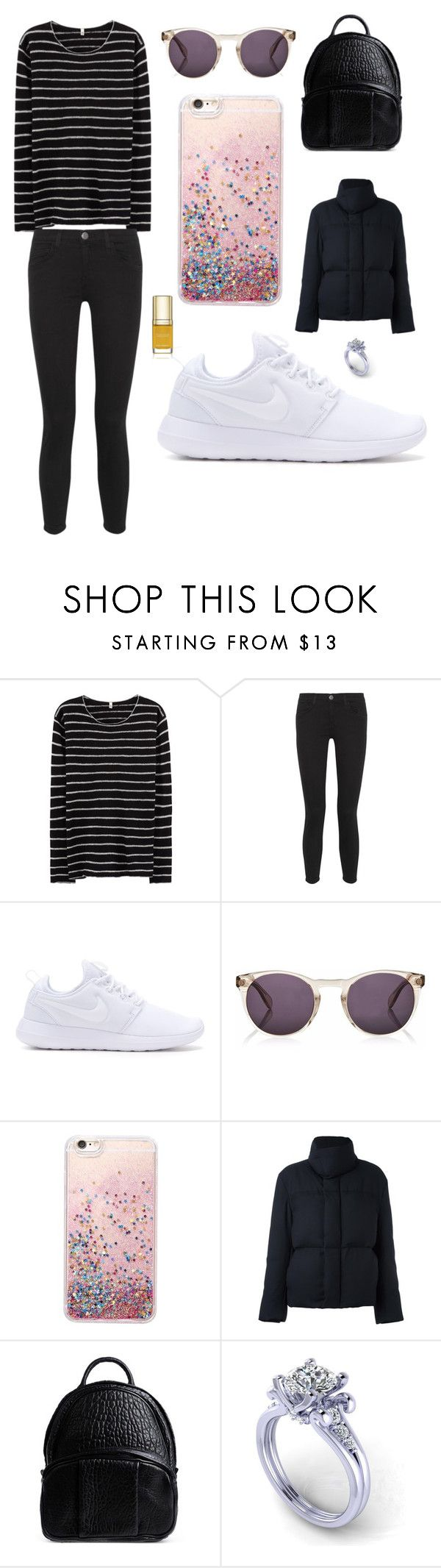 """""""Sans titre #2305"""" by merveille67120 ❤ liked on Polyvore featuring R13, Current/Elliott, NIKE, Finlay & Co., Paul Smith, Alexander Wang and Dolce&Gabbana"""