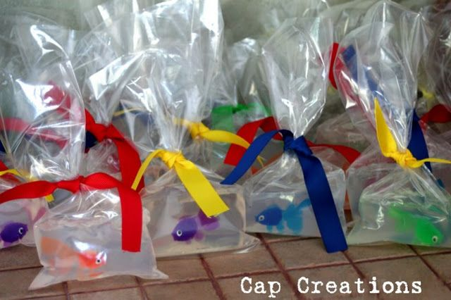 CARNIVAL - DIY DECORATIONS  Fish in a Bag Soap  THIS IS A MUST!!