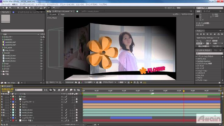 [Learn After Effects CS6] 05 タイムライン