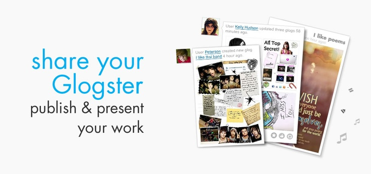 Create interactive online posters then embed into a site.