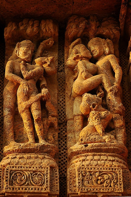 Detail from Sun Temple, Orissa
