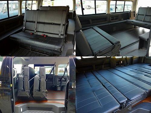 ハイエース 内装カスタム 車中泊できる街乗り仕様車 FD-BOX3