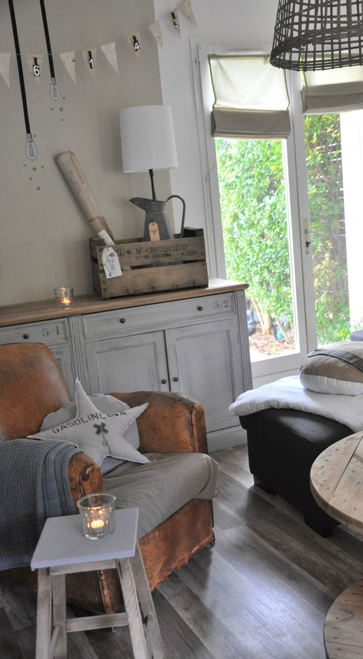 Les 25 meilleures id es de la cat gorie shabby chic for Element decoration salon