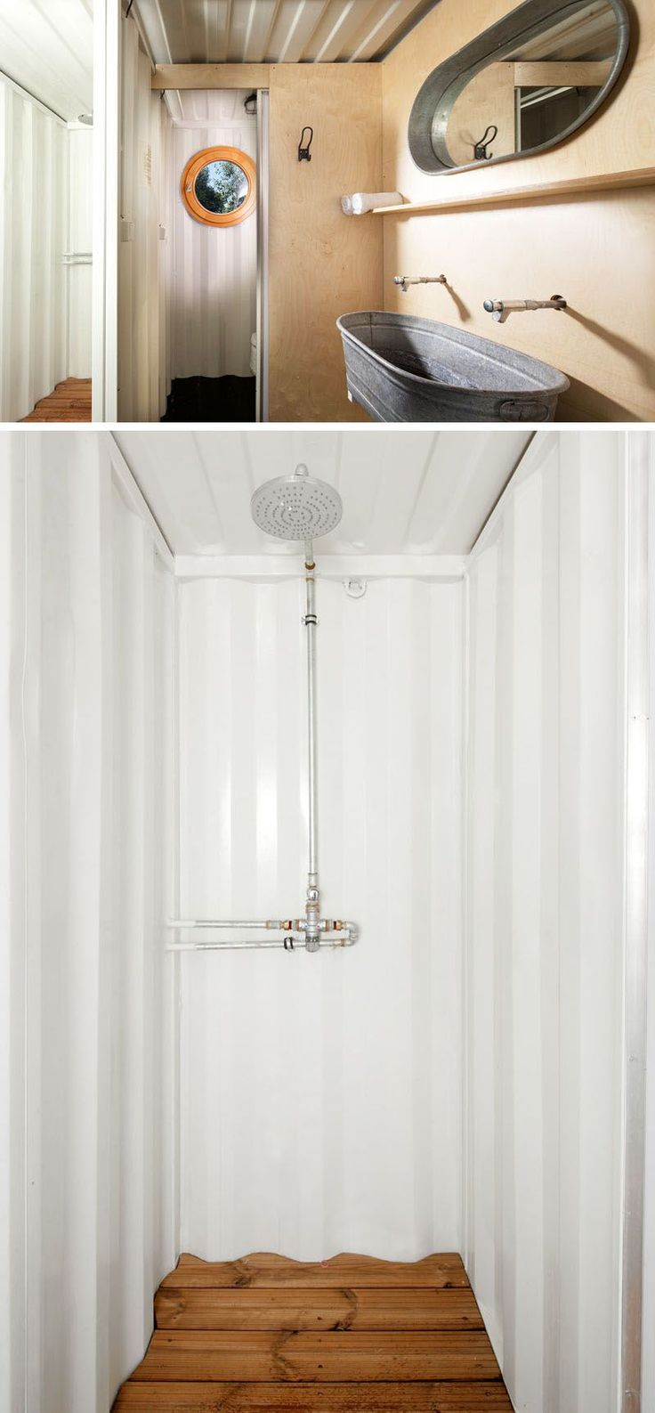 25 best ideas about 20ft container on pinterest 20ft - Shipping container bathroom design ...