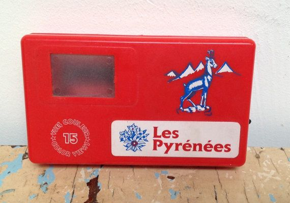 Vintage Toy viewer. Souvenir from France. by karmolijntje on Etsy