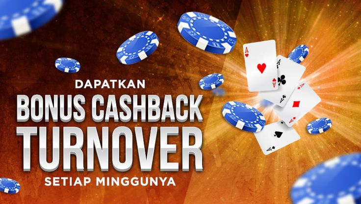 Bonus Cash Back Chips Setiap Minggu Pokercc
