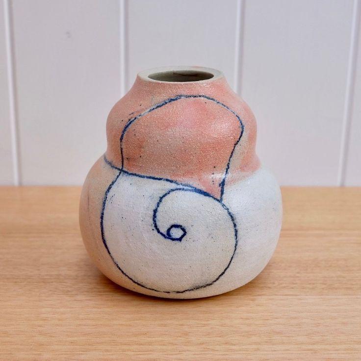 AMY LEEWORTHY Cobalt Line Vase #2 2017