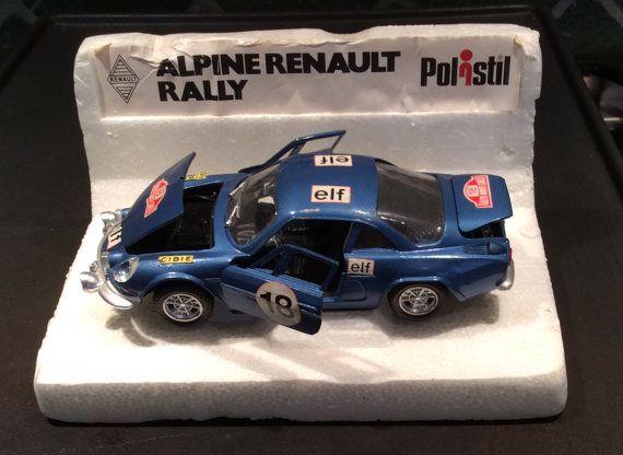 POLITOYS POLISTIL  RENAULT  Alpine A110 1800S by MacKenziesCottage