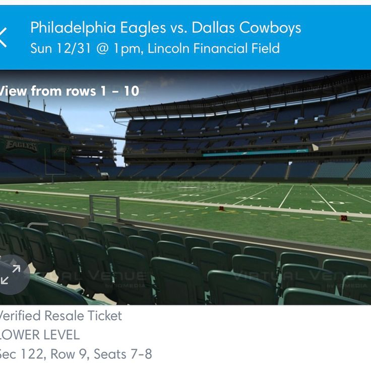 2 tickets for sale for tomorrow great seats! $650 for both!!!!  What a Super great way to end the the year...New Years Eve! Dm me  #football #cowboys #cowboysfan #eagles #eaglesfans #philadelphiaeagles #philadelphia