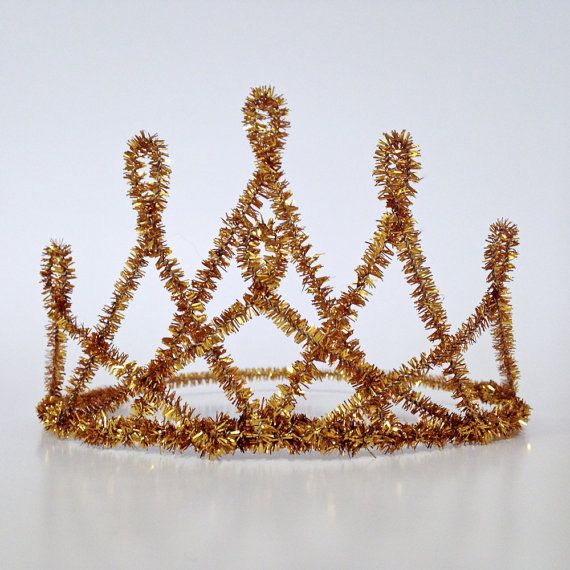 Quenna Pipe Cleaner Tiara by ALovelyGiraffe on Etsy