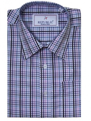Republic Men white & Blue checks Shirt  MRP : Rs.995  Our price : RS. 749  25% off  You save : Rs.246  (Price are included of all taxes.)