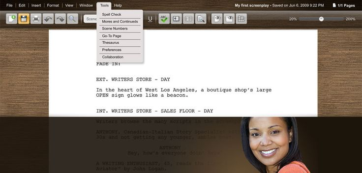 script writing program Scriptbuddy is full-featured screenwriting software it handles the formatting while you do the writing start writing in minutes with the free basic version.