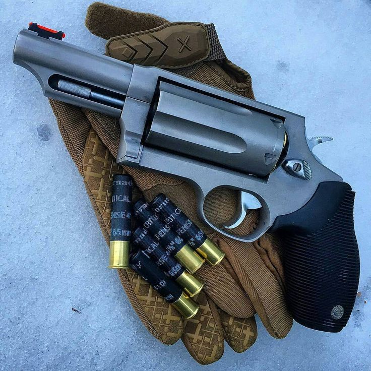 Taurus Judge ready for Winter. Yes, we get snow in SC. Hornady Critical…»