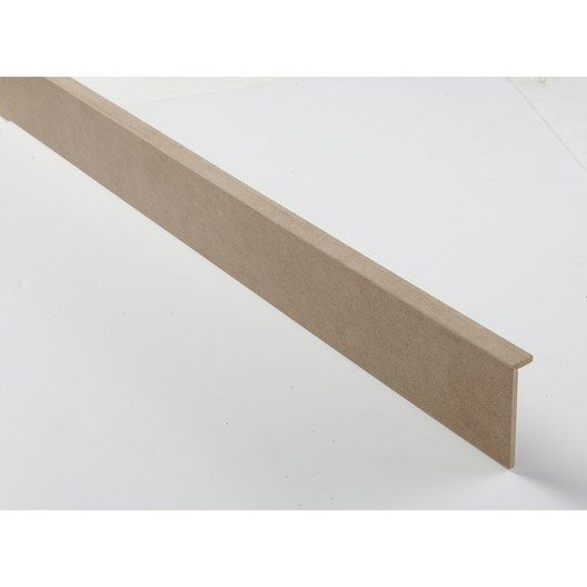 Surplinthe de r novation m dium mdf m lamin 20 x 92 mm l 2 2 m projet maison pinterest for Plinthe renovation
