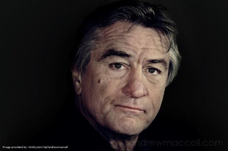 Robert De Niro! Celebrity by andrewmaccoll - #Vimity http://www.vimity.com/vip/andrewmaccoll/portfolio/celebrity/#