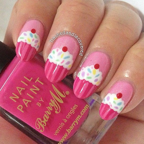 Cupcake Nails: 25+ Best Ideas About Cupcake Nail Art On Pinterest