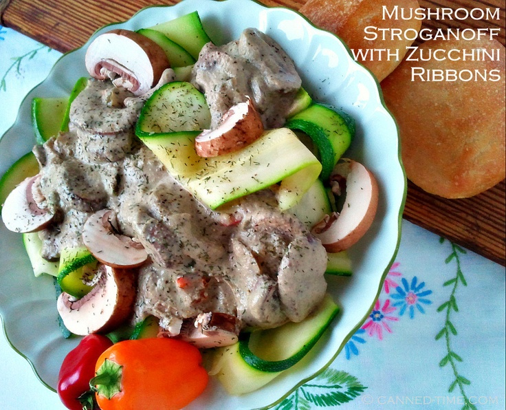 on zucchini ribbons744 jpg lean beef stroganoff on zucchini ribbons ...
