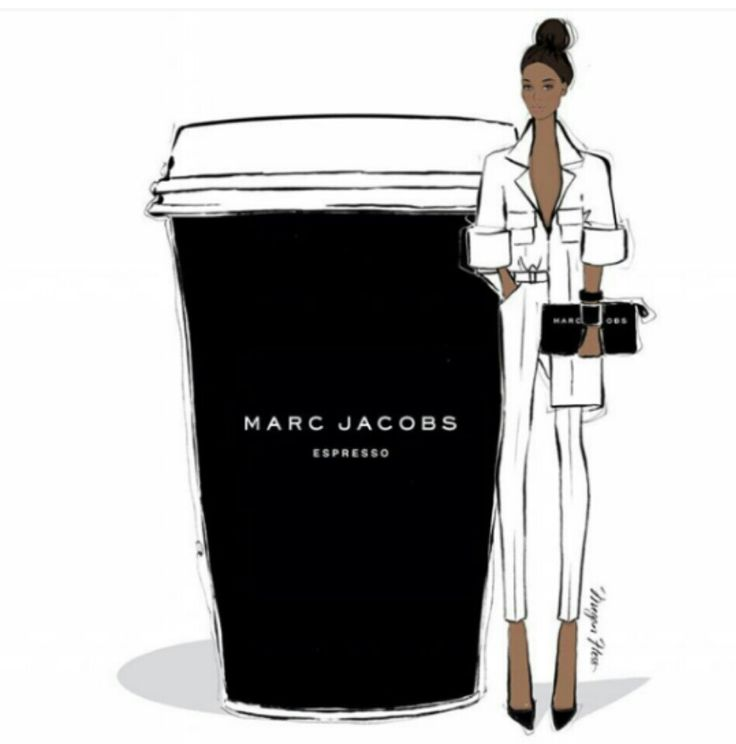 Being as cool as we are we're having Marc Jacobs Espressos today so....Happy Wednesday divas!