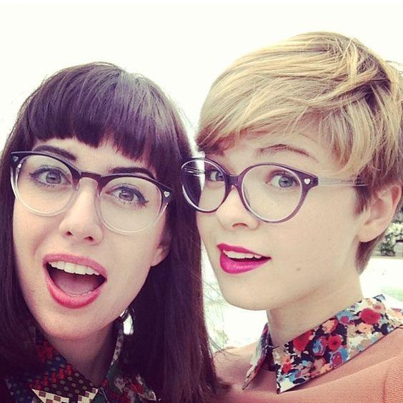 Inspirationen für Brillenträger …, 13 trendige Kurzhaarfrisuren (und natürlich auch für nicht Brillenträger)! - Neue Frisur