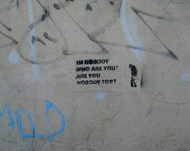 I'm Nobody! Who are you? (260)
