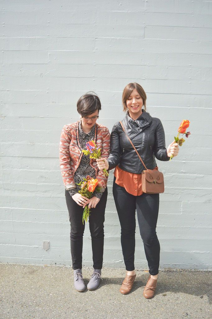 Street Style with Co & Jo on Oh Lovely Bows
