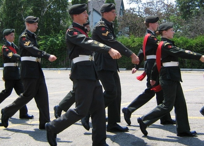 Canadian Army Cadets Training