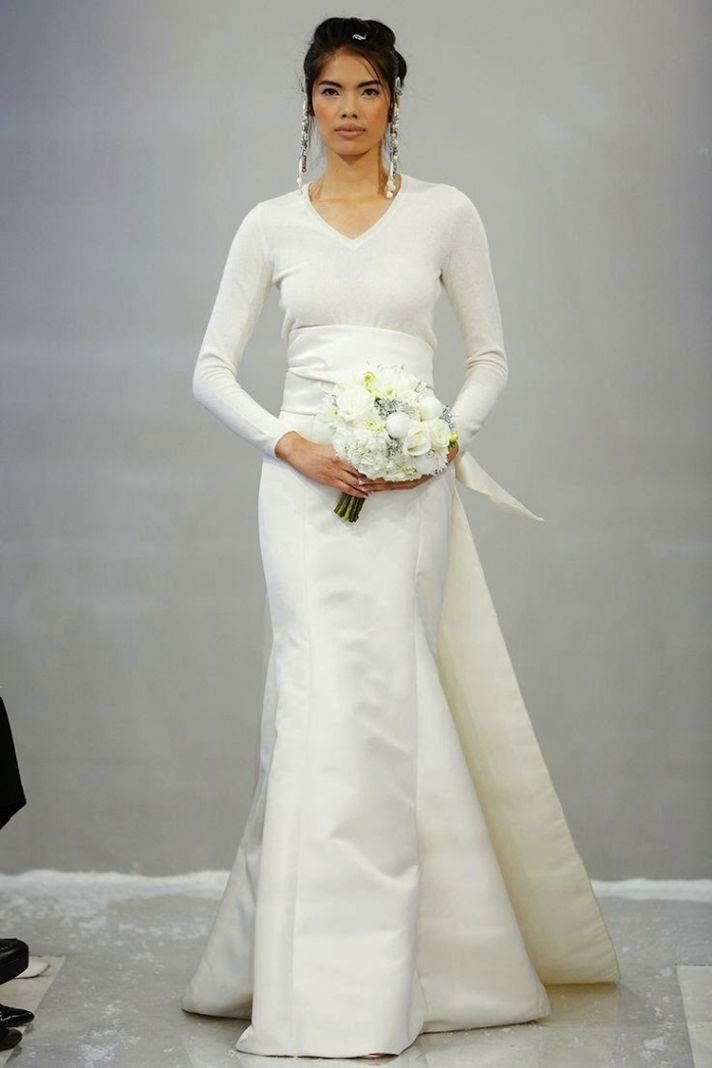 Perfect Winter Whites White Wedding DressesFall
