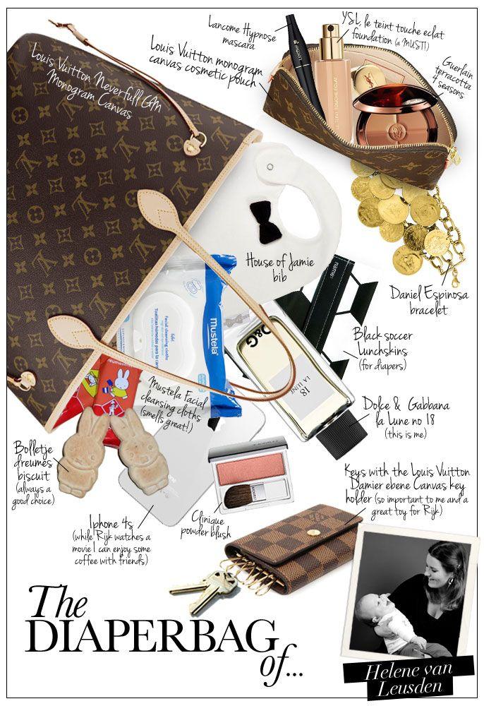 Pret a Pregnant - The Diaper Bag of Helene van Leusden