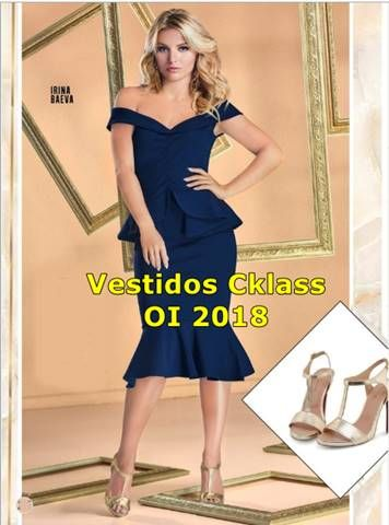 0cd16139 Vestidos Cklass Otoño Invierno 2018 | Estados | Vestidos cklass, Vestidos, Catalogos  cklass