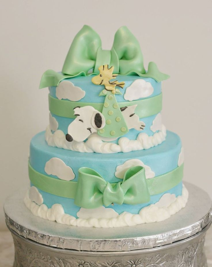 snoopy baby shower cake baby shower cakes