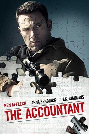 The Accountant, Movie on DVD, Drama Movies, Thriller & Suspense
