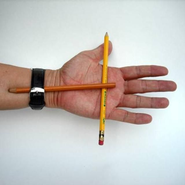Try This Fun and Easy Magnetic Pencil Magic Trick: Easy Magic Tricks for Kids, Magnetic Pencil - Preparation