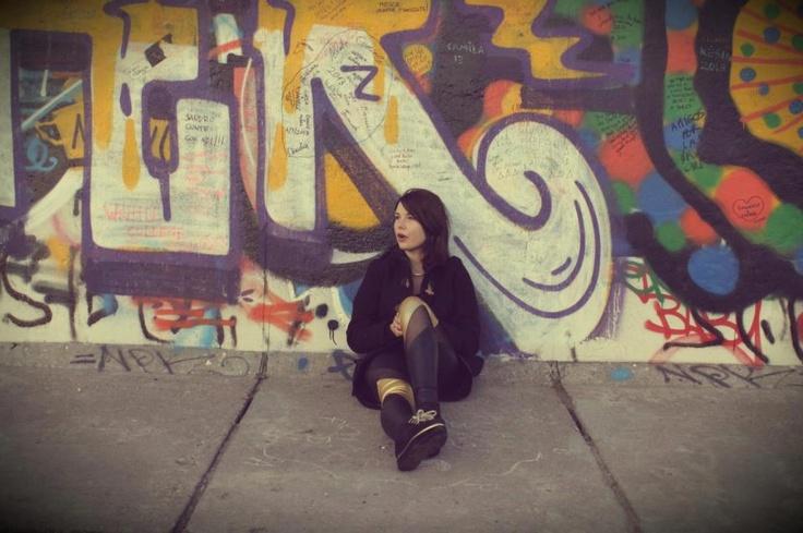 Berlin Street Style: Berlinsko. Leggins by Małgorzata Salamon