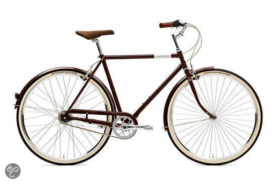 Fiets in stijl de lente door  #Retro, #Fiets, #Dutch #Bike, #Stadsfiets