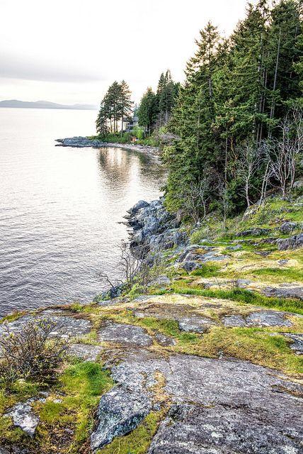 Sunshine coast . British Columbia . Canada