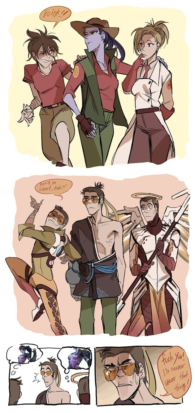 Tf2Overwatch Crossover  Lovable Things  Pinterest -2628