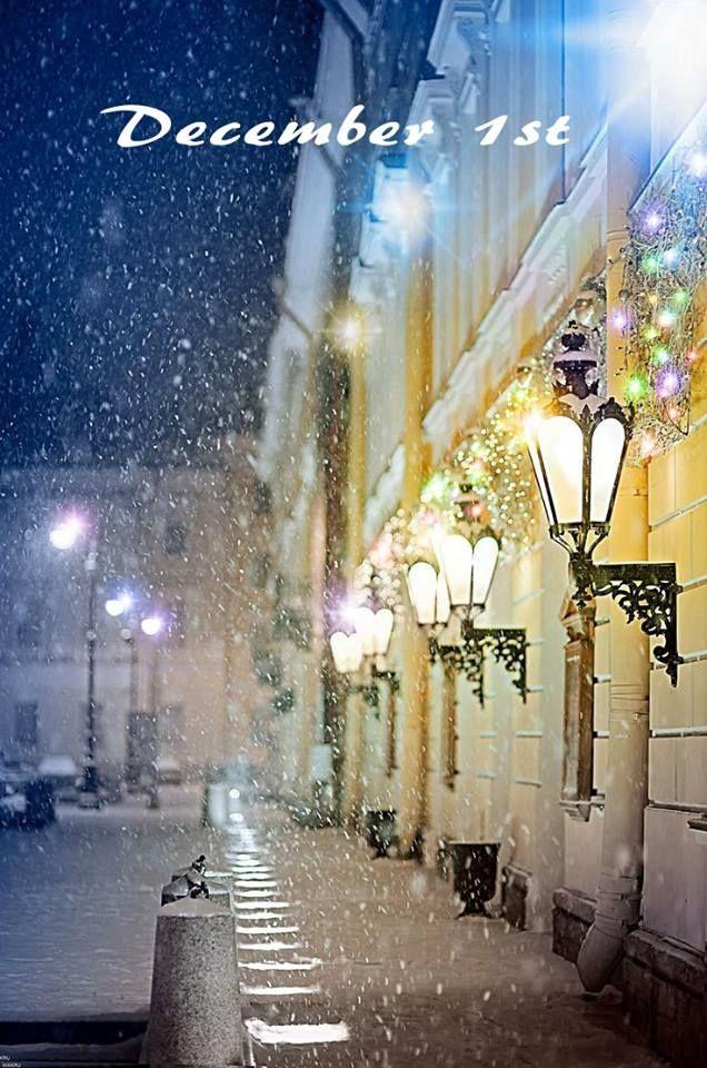 Hello, December! Привет, Декабрь!  Hello, December! Привет, Декабрь!  In the photo: Mikhailovsky Theatre, St Petersburg, Russia. Photographer Nikolay Krusser