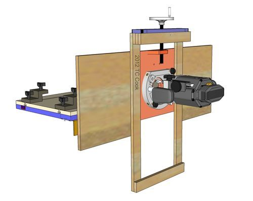 misc #2: horizontal router table - by Chris Cook @ LumberJocks.com ~ woodworking community